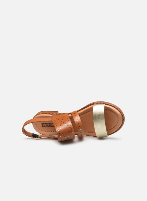 Sandalen Pikolinos Algar W0X-0557 Bruin links