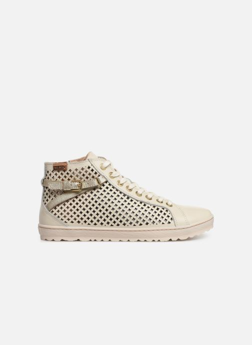 Sneakers Pikolinos Lagos 901-8849C2 Hvid se bagfra