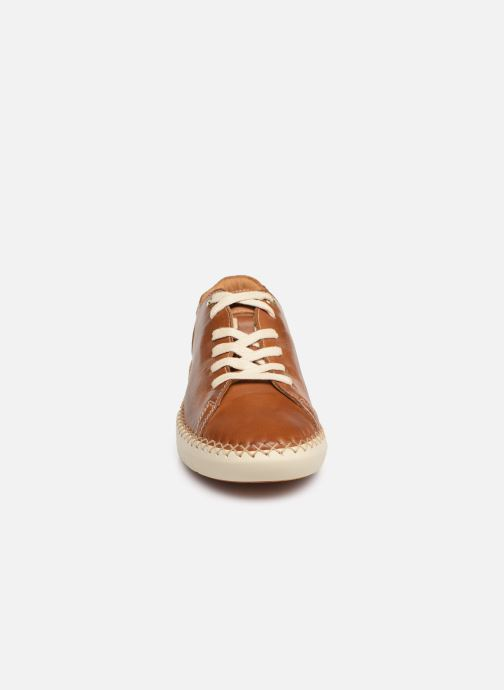Baskets Pikolinos Mesina W0Y-6836 Marron vue portées chaussures