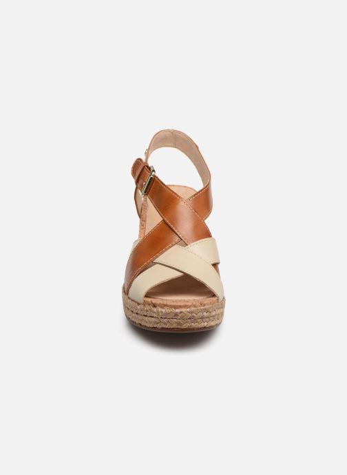 Sandales et nu-pieds Pikolinos Mojacar W7R-1736C1 Marron vue portées chaussures