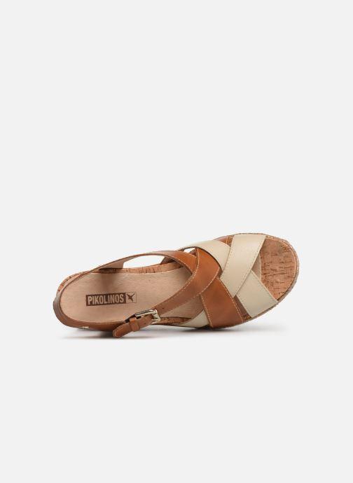 Sandales et nu-pieds Pikolinos Mojacar W7R-1736C1 Marron vue gauche