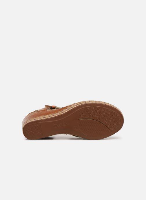 Sandales et nu-pieds Pikolinos Mojacar W7R-1736C1 Marron vue haut