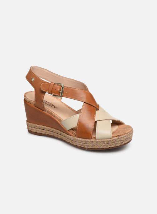 Sandales et nu-pieds Pikolinos Mojacar W7R-1736C1 Marron vue détail/paire