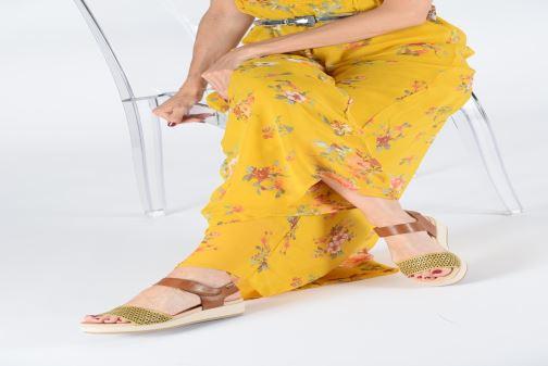 Sandales et nu-pieds Pikolinos Mykonos W1G-1733 Marron vue bas / vue portée sac