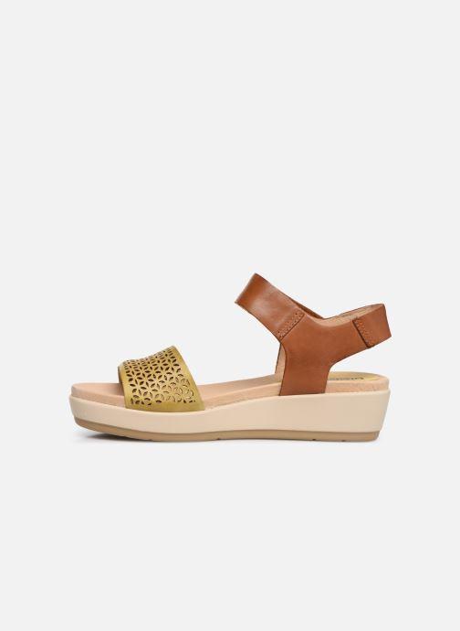 Sandales et nu-pieds Pikolinos Mykonos W1G-1733 Marron vue face