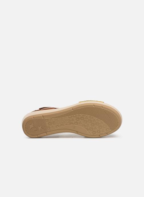 Sandales et nu-pieds Pikolinos Mykonos W1G-1733 Marron vue haut