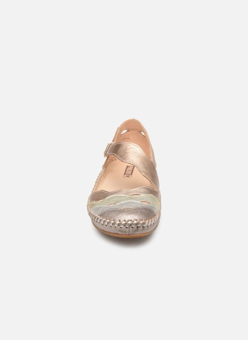 Ballerines Pikolinos P. Vallarta 655-0706CLC1 Or et bronze vue portées chaussures
