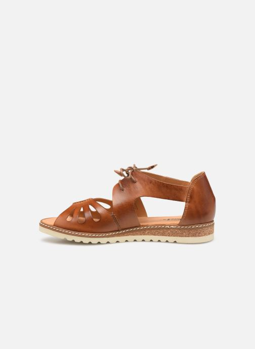 Sandales et nu-pieds Pikolinos Alcudia W1L-0917 Marron vue face