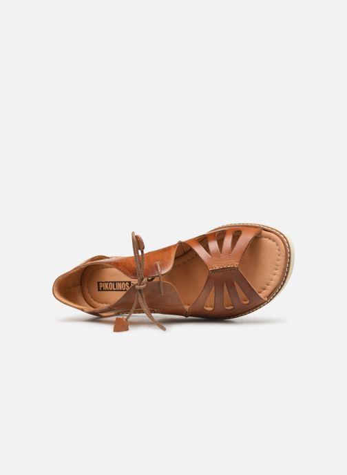 Sandales et nu-pieds Pikolinos Alcudia W1L-0917 Marron vue gauche