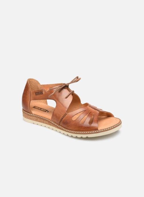Sandales et nu-pieds Pikolinos Alcudia W1L-0917 Marron vue détail/paire