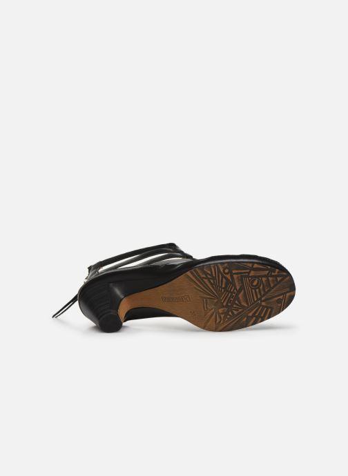 Sandales et nu-pieds Pikolinos Java W5A-1701 Noir vue haut