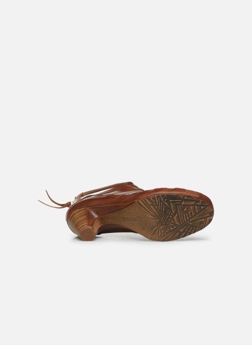 Sandales et nu-pieds Pikolinos Java W5A-1701 Marron vue haut