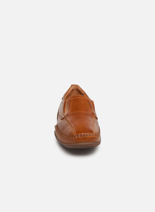 Mocassins Pikolinos Puerto Rico 03A-6222 Marron vue portées chaussures