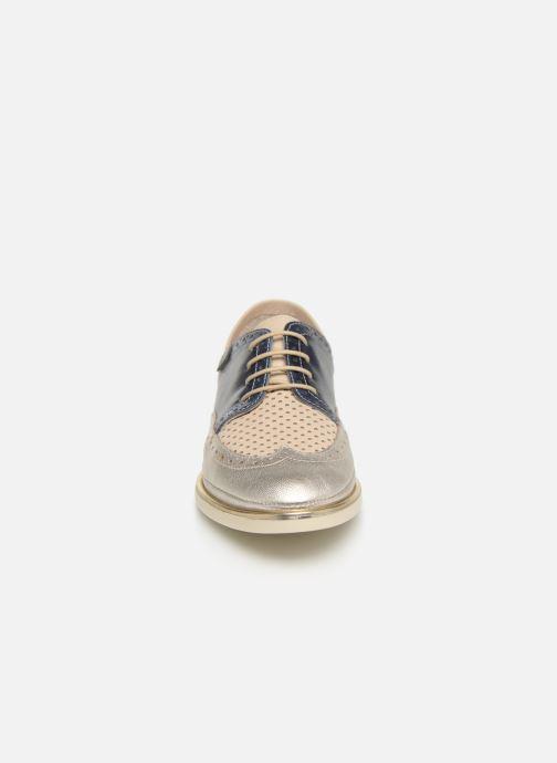 Chaussures à lacets Pikolinos Santorini W3V-4802C1 Bleu vue portées chaussures