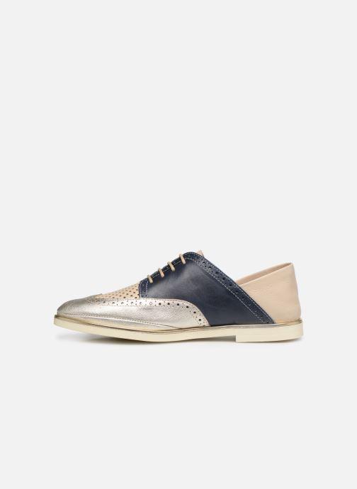 Chaussures à lacets Pikolinos Santorini W3V-4802C1 Bleu vue face