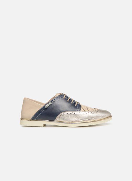 Zapatos con cordones Pikolinos Santorini W3V-4802C1 Azul vistra trasera