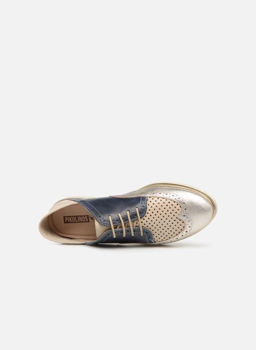 Chaussures à lacets Pikolinos Santorini W3V-4802C1 Bleu vue gauche