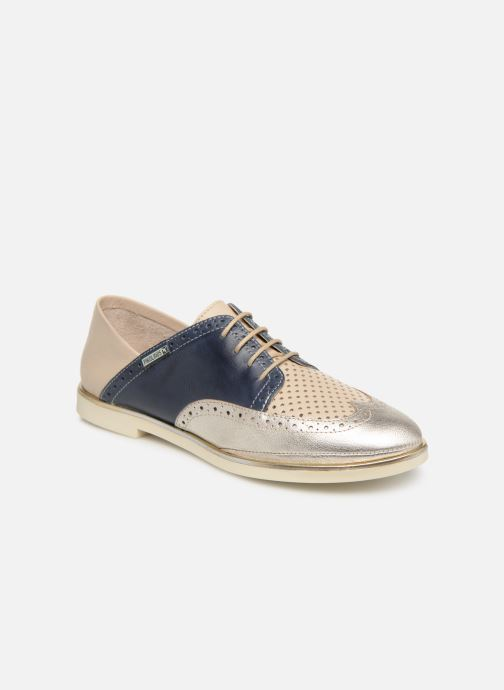 Zapatos con cordones Pikolinos Santorini W3V-4802C1 Azul vista de detalle / par