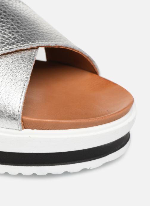 Sandales et nu-pieds Made by SARENZA South Village Sandales Plates #2 Argent vue gauche