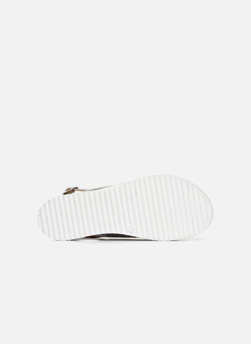 Sandales et nu-pieds Made by SARENZA South Village Sandales Plates #2 Argent vue haut