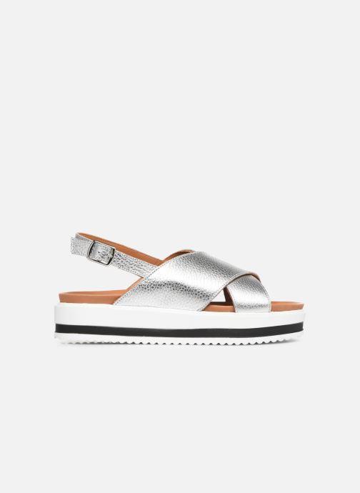 Sandales et nu-pieds Made by SARENZA South Village Sandales Plates #2 Argent vue détail/paire
