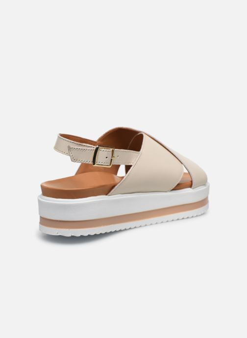 Sandali e scarpe aperte Made by SARENZA South Village Sandales Plates #2 Bianco immagine frontale