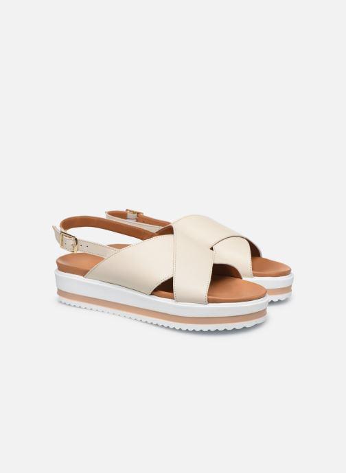 Sandali e scarpe aperte Made by SARENZA South Village Sandales Plates #2 Bianco immagine posteriore