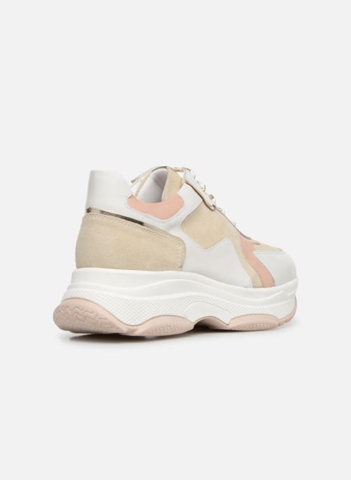 Sneakers Made by SARENZA Afrique Vibes Basket #1 Roze voorkant