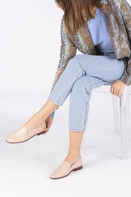 Mocassins Made by SARENZA Riviera Couture Mocassin #2 Rose vue bas / vue portée sac