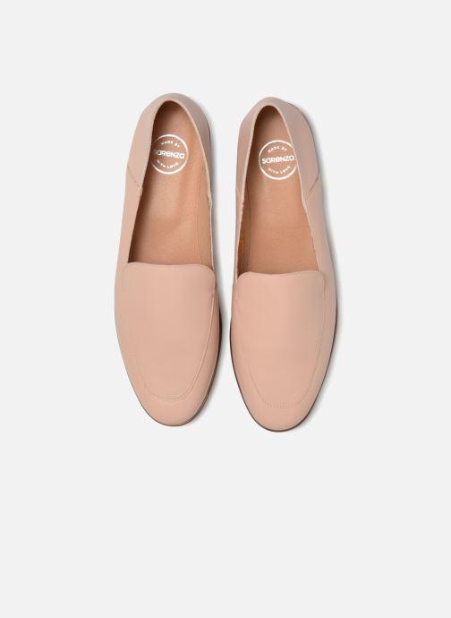 Slipper Made by SARENZA Sport Party Mules #2 rosa schuhe getragen
