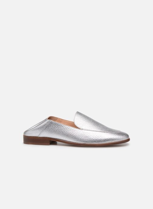 Loafers Made by SARENZA Sport Party Mules #2 Silver 3/4 view