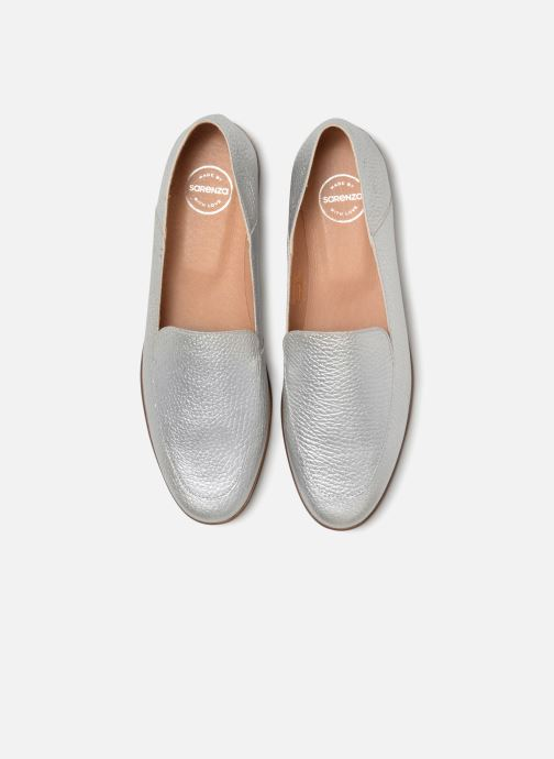 Loafers Made by SARENZA Sport Party Mules #2 Silver model view