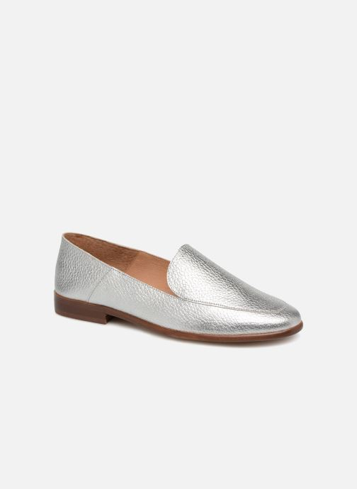 Mocassins Made by SARENZA Riviera Couture Mocassin #2 Argent vue droite