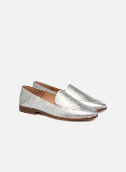 Loafers Made by SARENZA Sport Party Mules #2 Silver back view