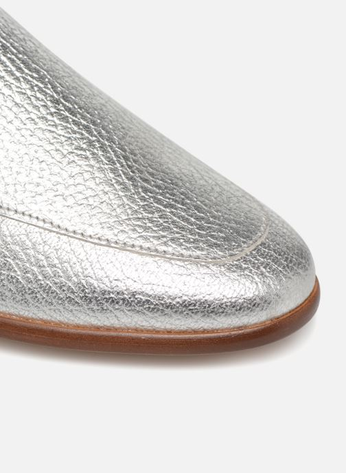 Loafers Made by SARENZA Sport Party Mules #2 Silver view from the left