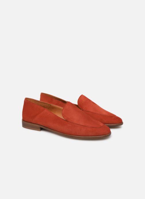 Mocasines Made by SARENZA Riviera Couture Mocassin #2 Rojo vistra trasera