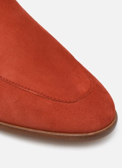 Mocassins Made by SARENZA Riviera Couture Mocassin #2 Rouge vue gauche