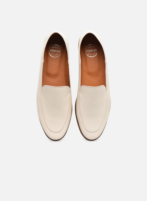 Mocassins Made by SARENZA Riviera Couture Mocassin #2 Blanc vue portées chaussures