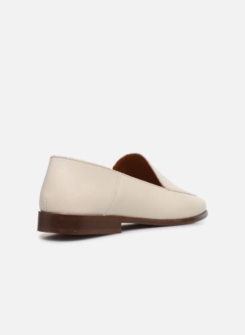 Slipper Made by SARENZA Riviera Couture Mocassin #2 weiß ansicht von vorne