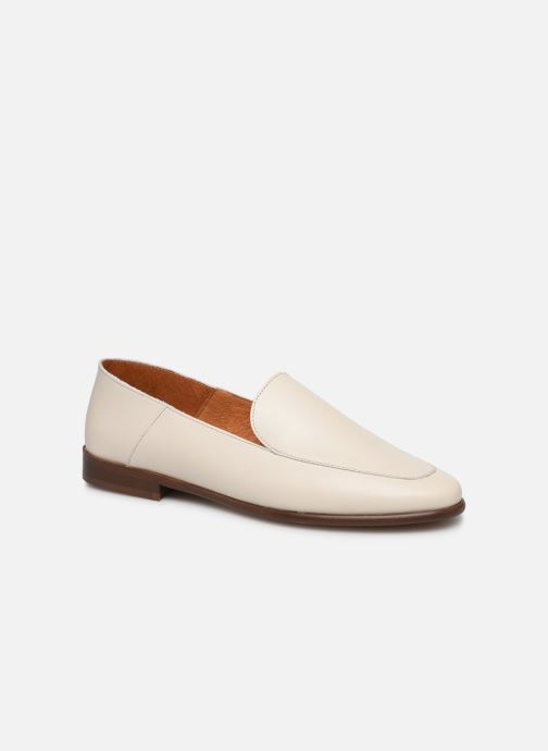 Mocassins Made by SARENZA Riviera Couture Mocassin #2 Blanc vue droite