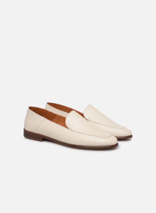 Slipper Made by SARENZA Riviera Couture Mocassin #2 weiß ansicht von hinten