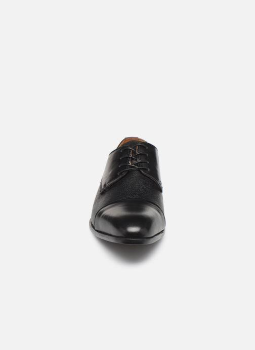 Schnürschuhe Marvin&Co Nucciato schwarz schuhe getragen