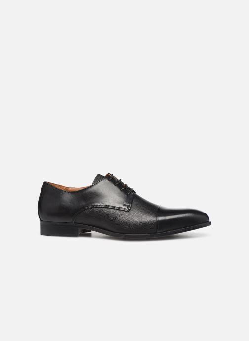 Snörade skor Marvin&Co Nucciato Svart bild från baksidan