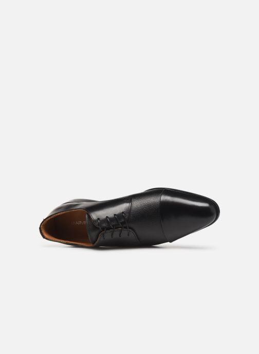 Snörade skor Marvin&Co Nucciato Svart bild från vänster sidan