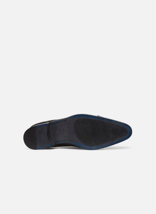 Snörade skor Marvin&Co Nucciato Svart bild från ovan