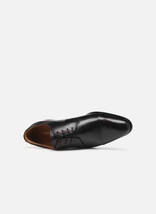 Lace-up shoes Marvin&co Noulia Black view from the left