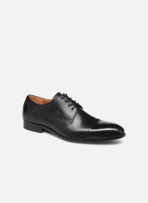 Lace-up shoes Marvin&co Noulia Black detailed view/ Pair view
