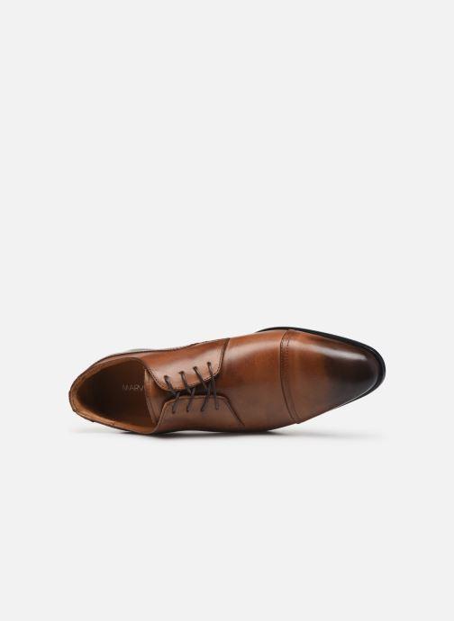 Scarpe con lacci Marvin&Co Noulia Marrone immagine sinistra