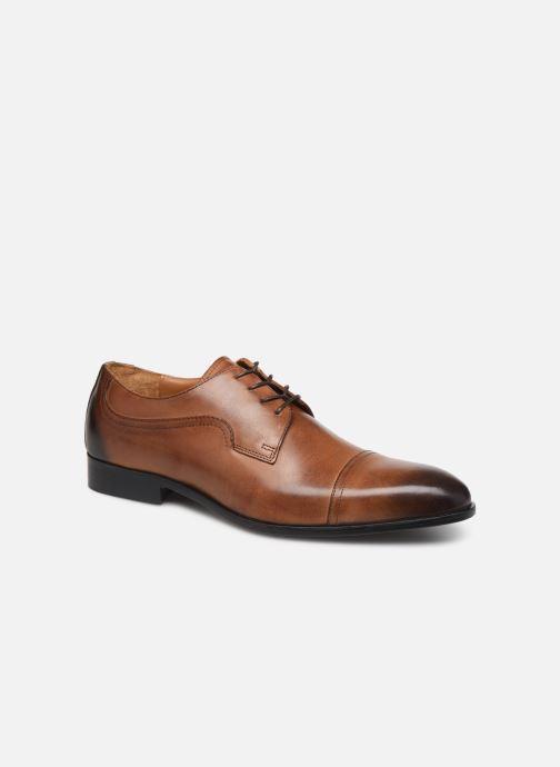 Chaussures à lacets Marvin&Co Noulia Marron vue détail/paire