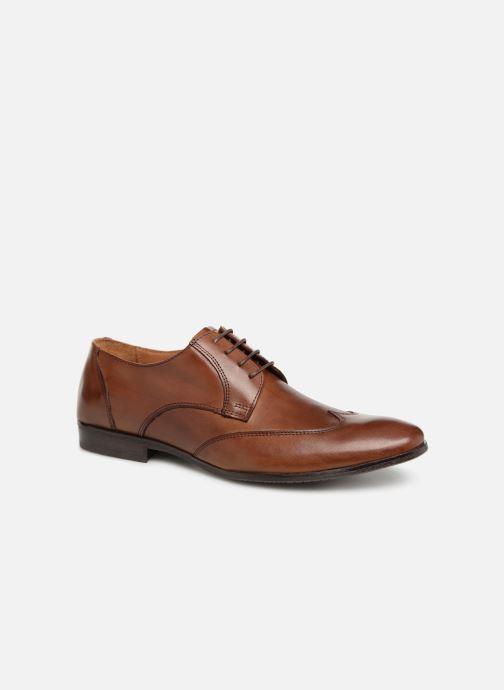 Chaussures à lacets Marvin&Co Newheart Marron vue détail/paire